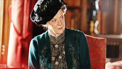 The Dowager Countess of Grantham. Image from psb.org