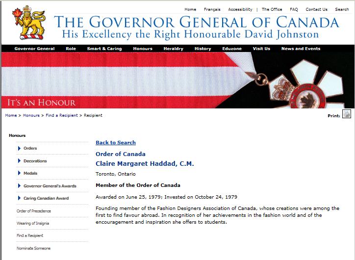 CLAIRE-HADDAD-ORDER-OF-CANADA