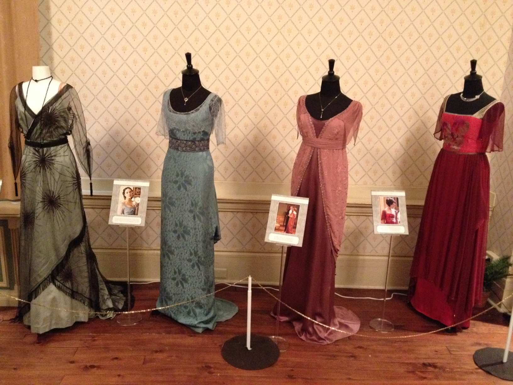 Downton Dresses on Display at Spadina House