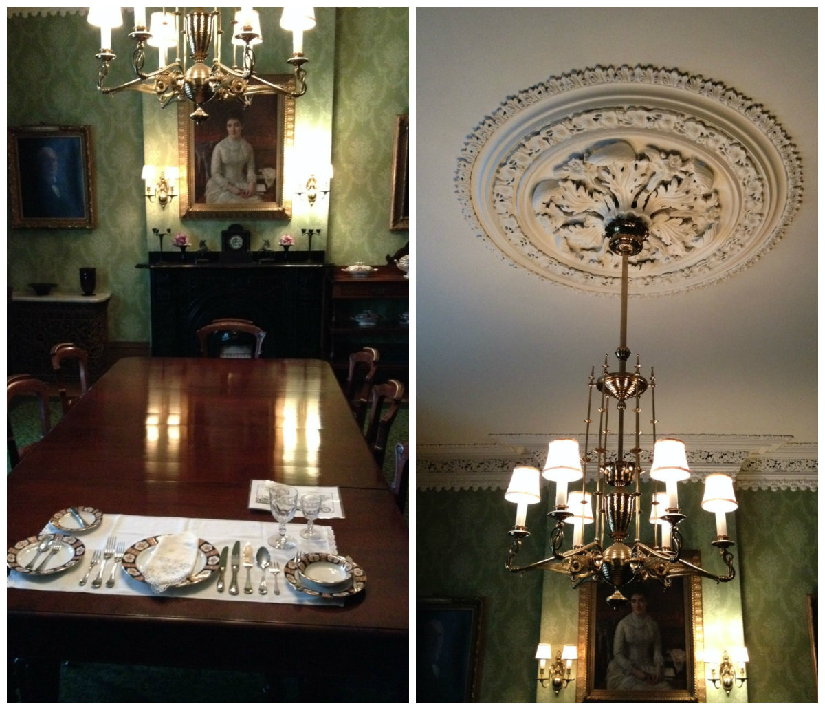 Dining Room of Spadina House