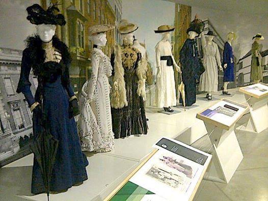 Fashion History Museum exhibit