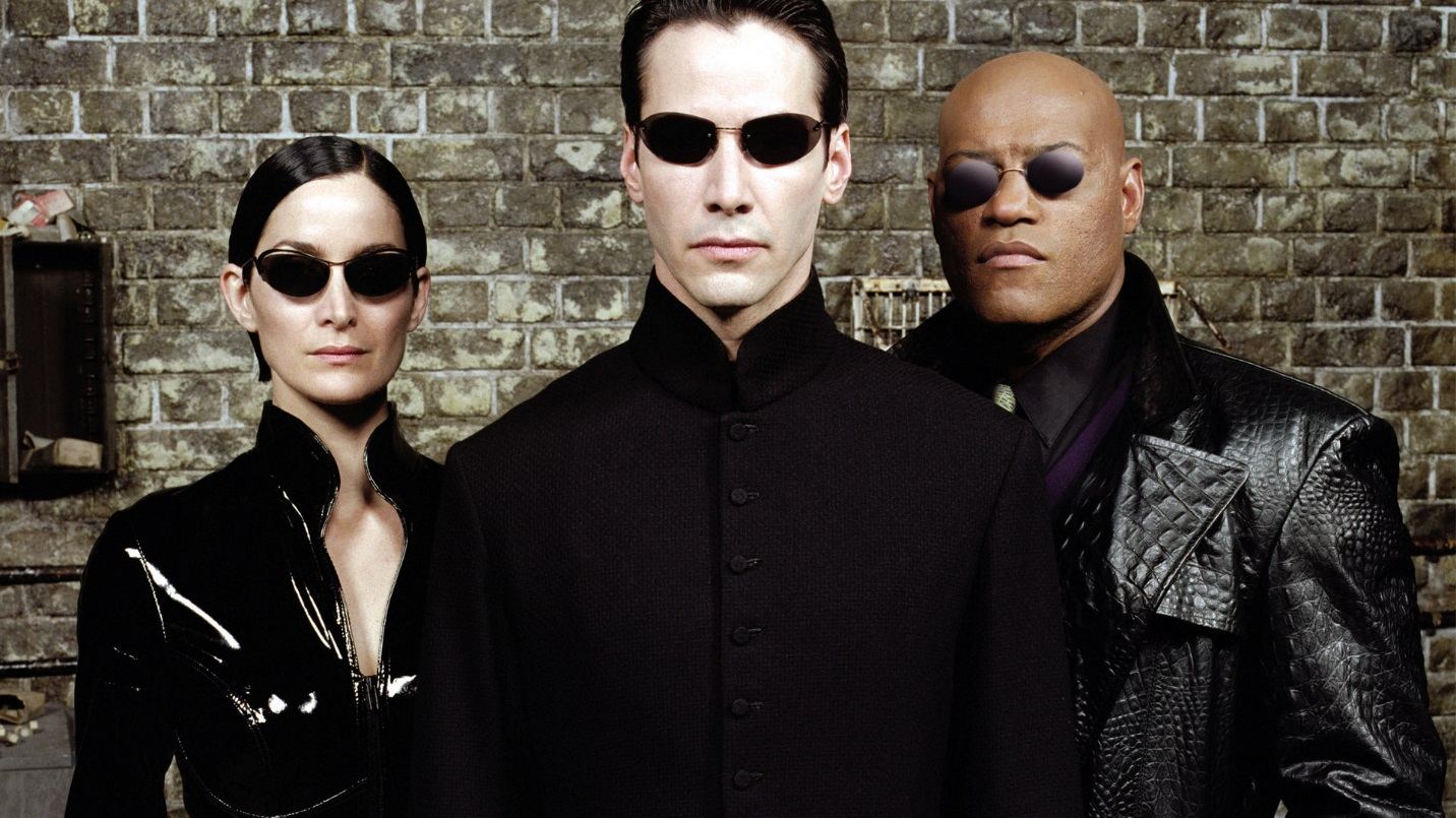 "Characters in the film ""The Matrix."" Image from http:ss//ca.movies.yahoo.com"