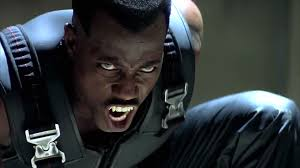 "Wesley Snipes in the film ""Blade 4"""