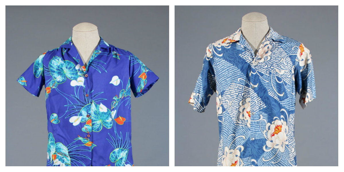 Hawaiian shirts from Seneca Fashion Resource Centre