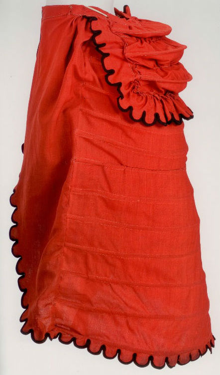 Image from Fashioning Fashion: European Dress in Detail, 1700 – 1915, Sharon Sadako Takeda and Kay Durland Spilker, Los Angeles County Museum of Art. Page 99