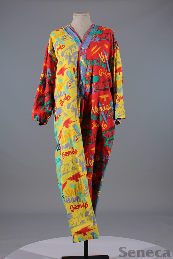 1980s jumpsuit from the Seneca Fashion Resource Centre