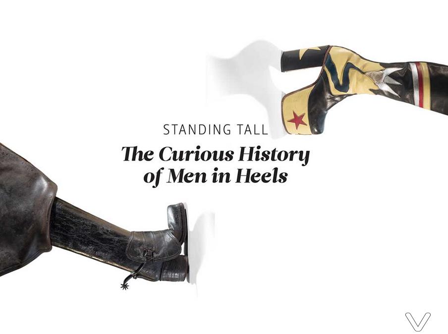 Bata Shoe Museum, Standing Tall exhibit, Image from www.batashoemuseum.ca