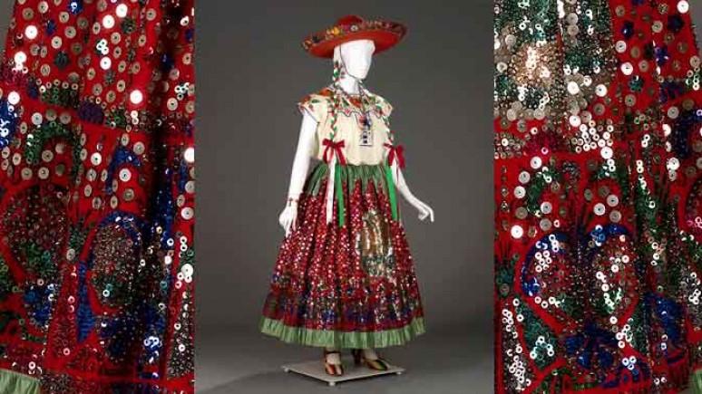 ¡Viva México! Clothing and Culture exhibit, Image from www.rom.on.ca