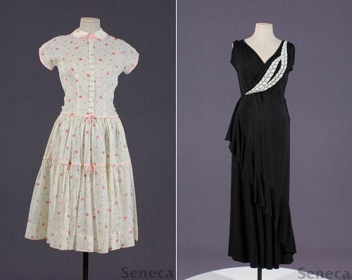 Left: Girl's dress from SFRC; Right: Women's dress from SFRC
