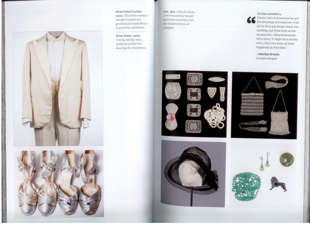 Sample pages from book