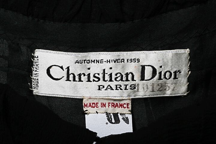 Christian Dior Garment Label